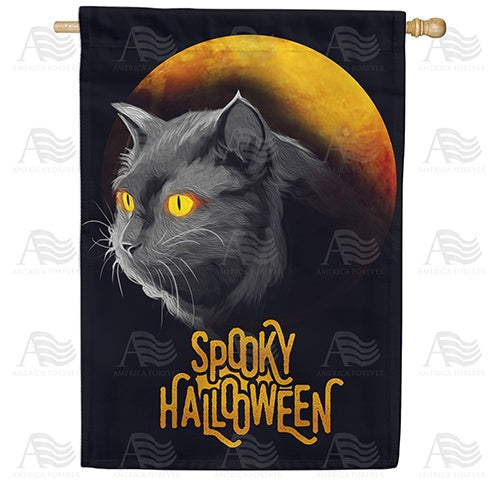Are You Superstitious? Double Sided House Flag