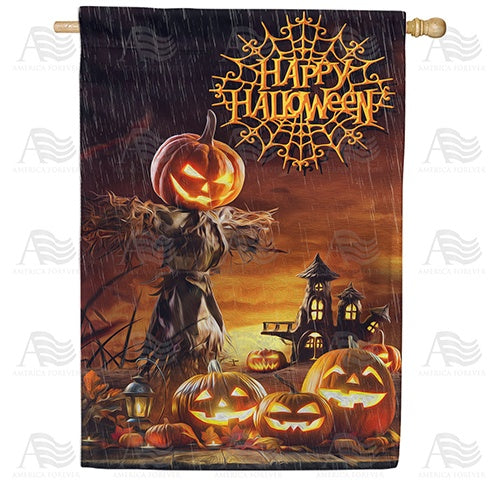 Night Of Fright Double Sided House Flag