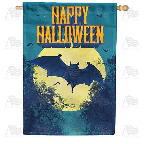 Dracula Takes Flight Double Sided House Flag