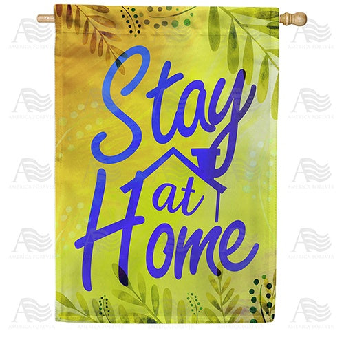 Home - Your Safe Haven Double Sided House Flag