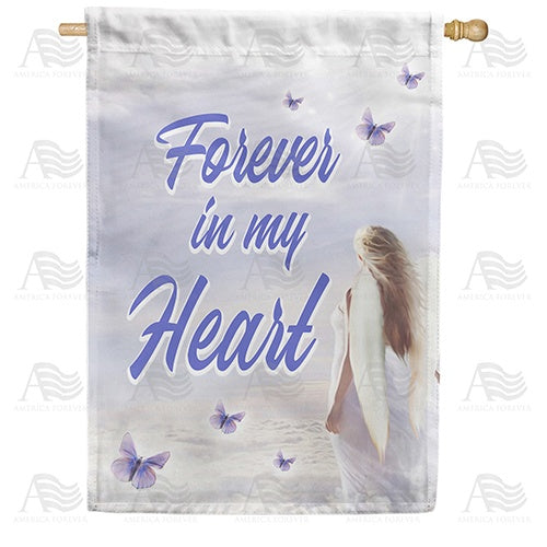 Heavenly Angel Double Sided House Flag