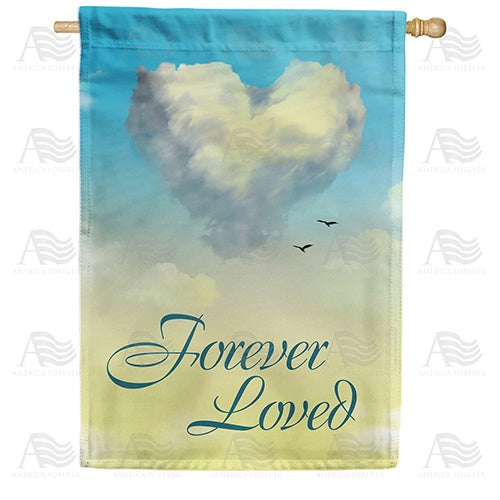 Heavenly Love Double Sided House Flag