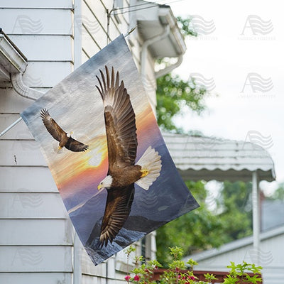 Kings Of The Sky Double Sided House Flag