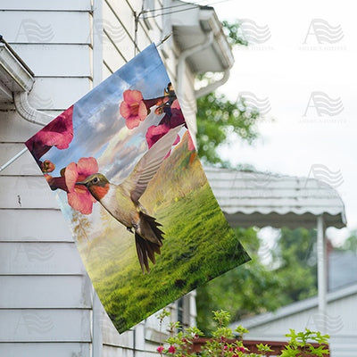 Sweet Nectar Double Sided House Flag