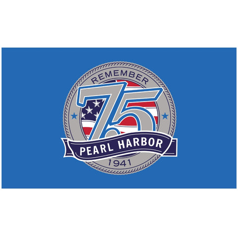 Pearl Harbor 75th Anniversary Flag