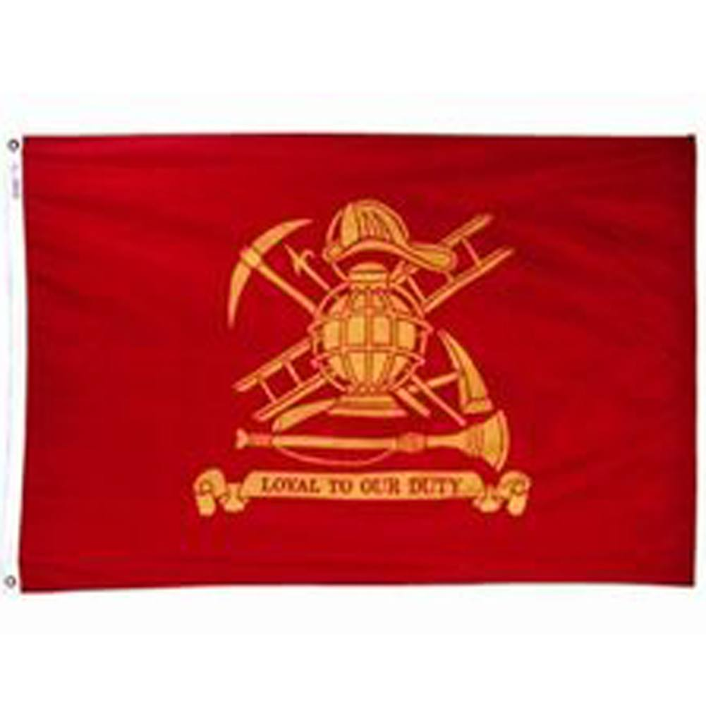 Annin Fireman's Loyal Flag