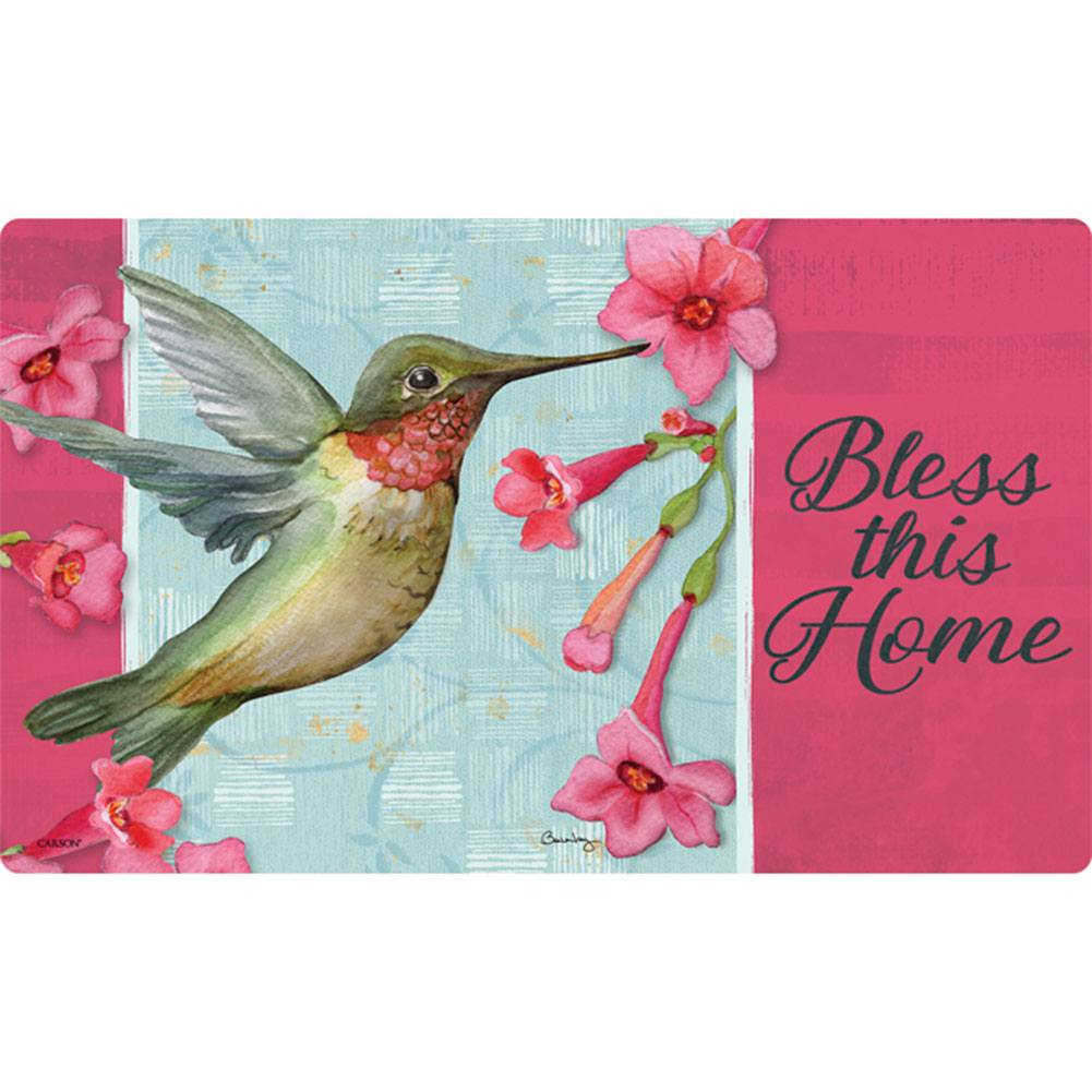 Hummingbird Blessing Doormat