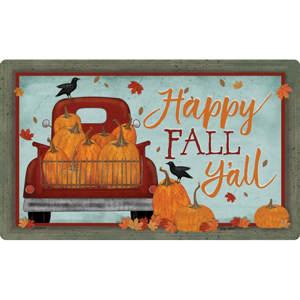 Happy Fall Y All Doormat
