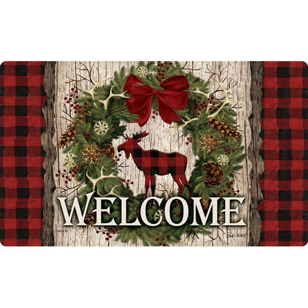 Woodland Christmas Doormat