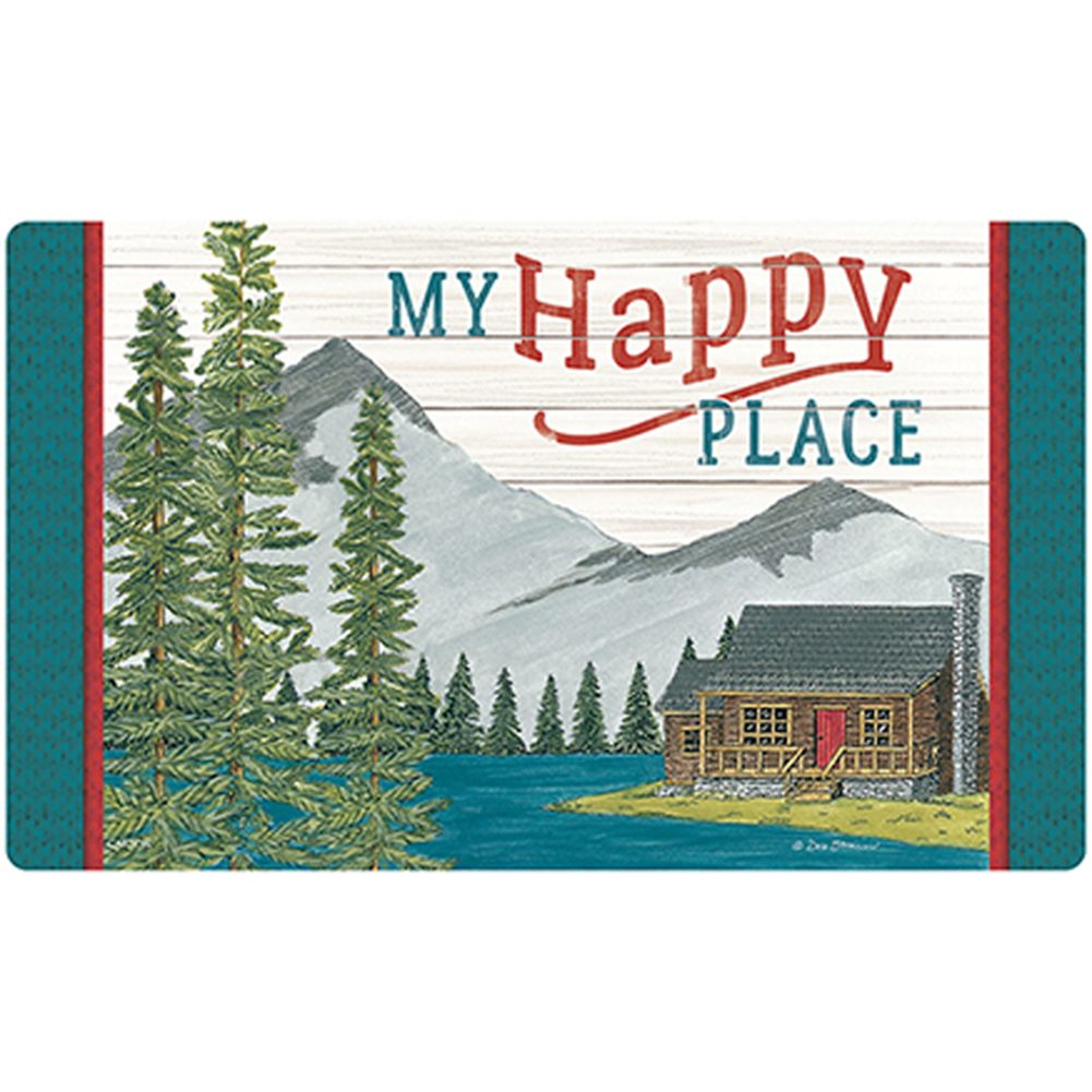 My Happy Place Doormat