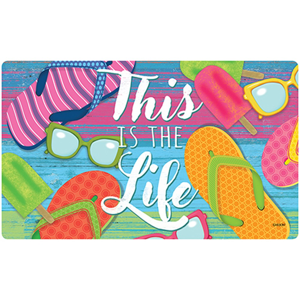 This Is The Life Doormat