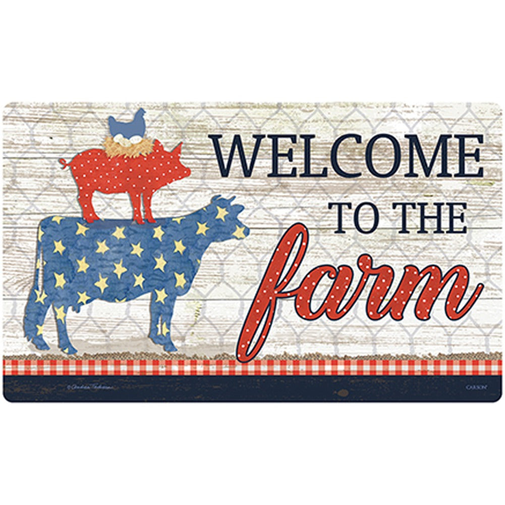 Farm Sweet Farm Doormat