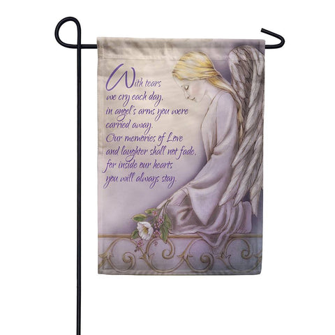 Angels Arms Double Sided Garden Flag