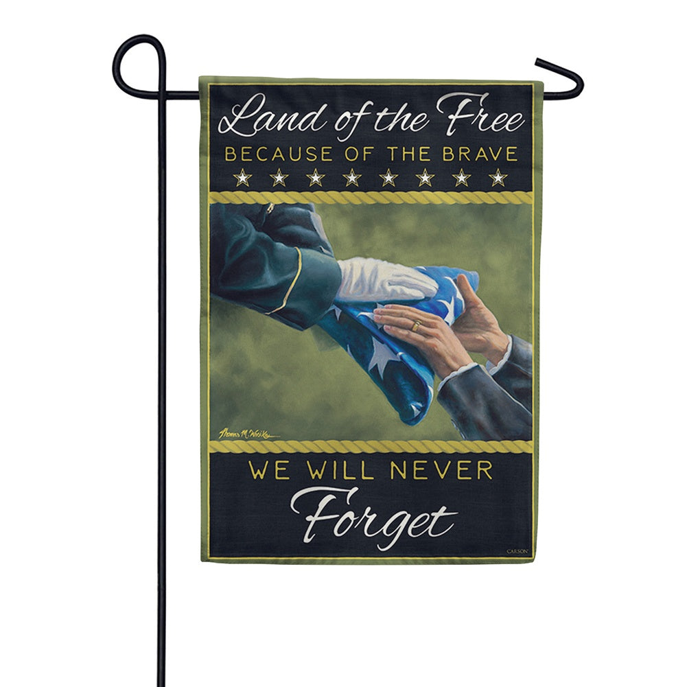 Army Memorial Double Sided Garden Flag