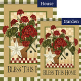 Country Trio Double Sided Flags Set (2 Pieces)