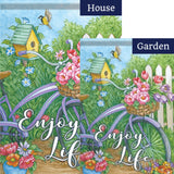 Garden Rides Double Sided Flags Set (2 Pieces)