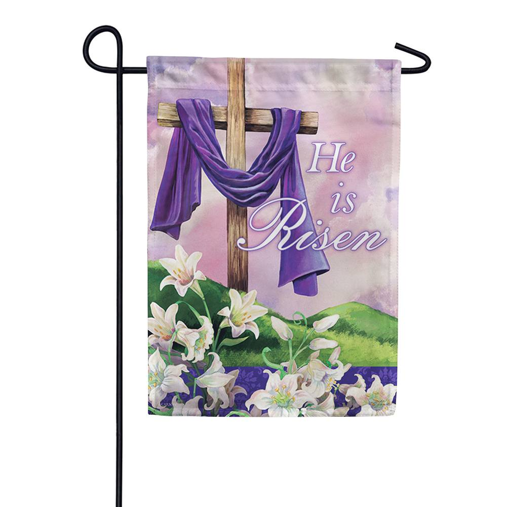 Holy Times Double Sided Garden Flag