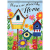 Birdhouses Double Sided Garden Flag
