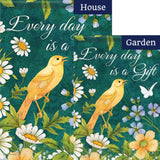 Every Day is a Gift Double Sided Flags Set (2 Pieces)
