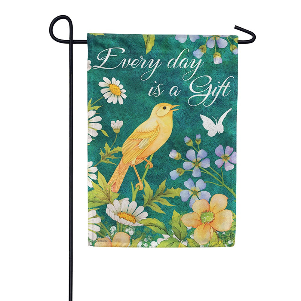 Every Day is a Gift Double Sided Garden Flag