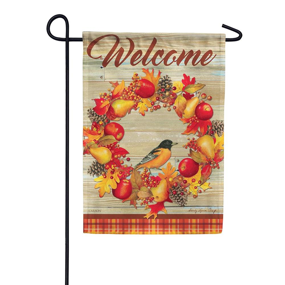 Autumn Song Double Sided Garden Flag