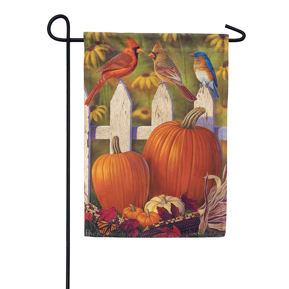 A Fall Birds View Double Sided Garden Flag