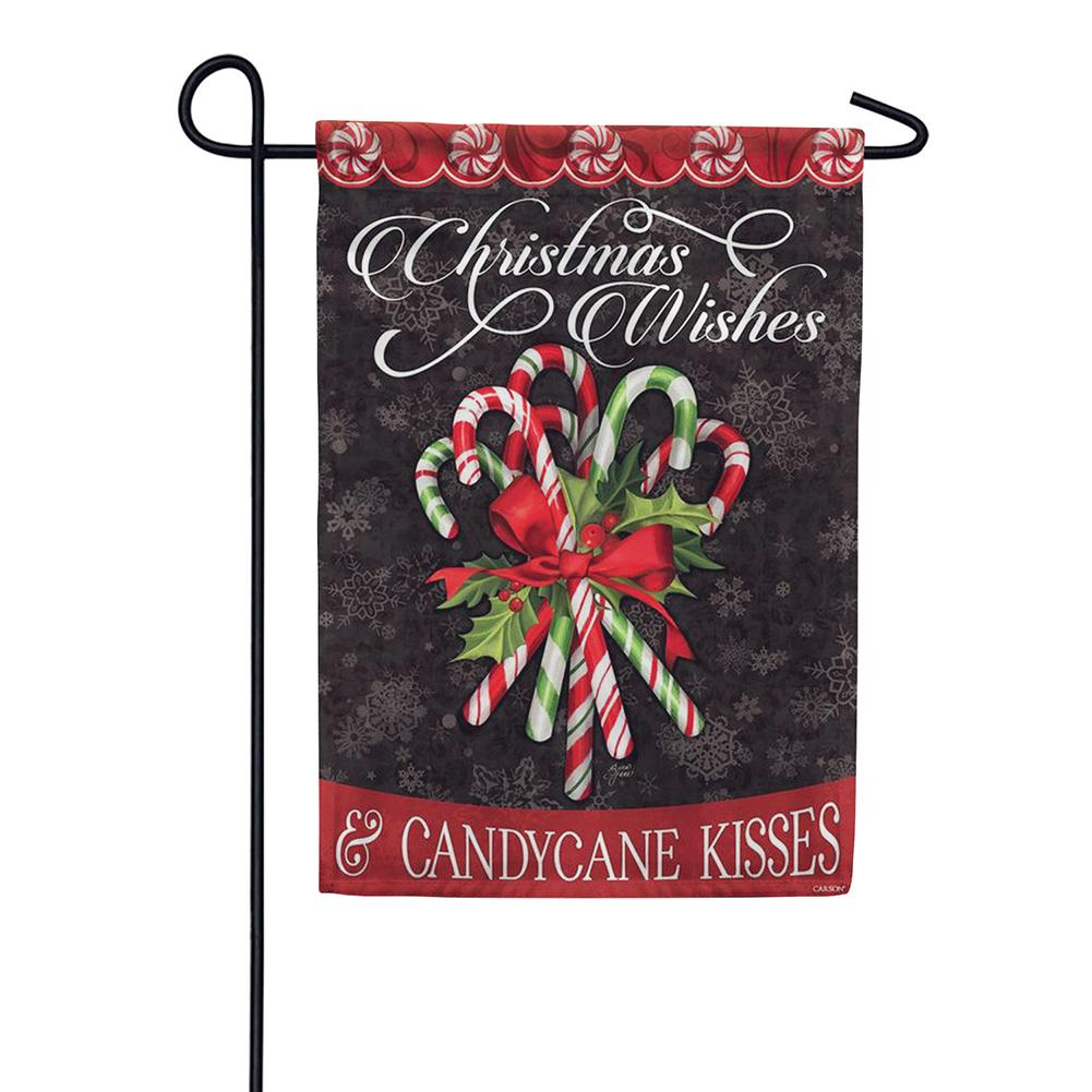 Candy Cane Bouquet Double Sided Garden Flag