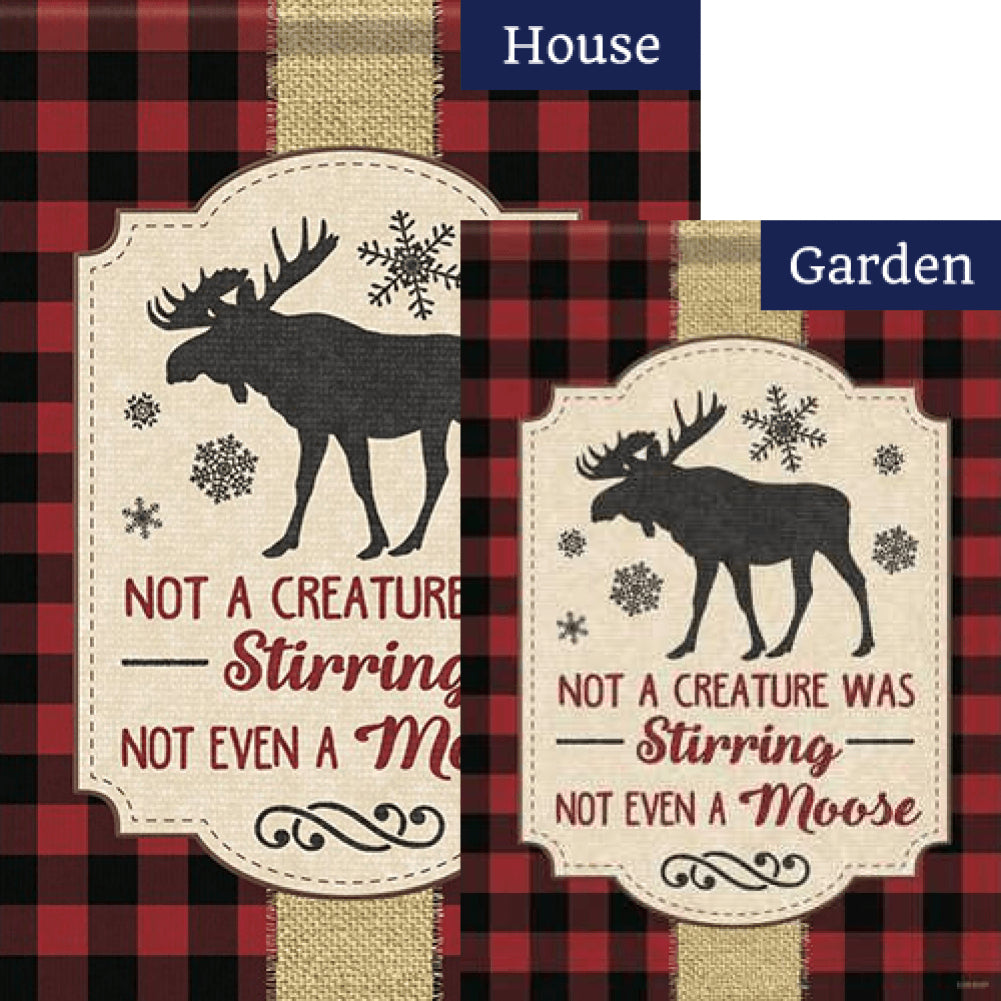 Not A Creature Double Sided Flags Set (2 Pieces)