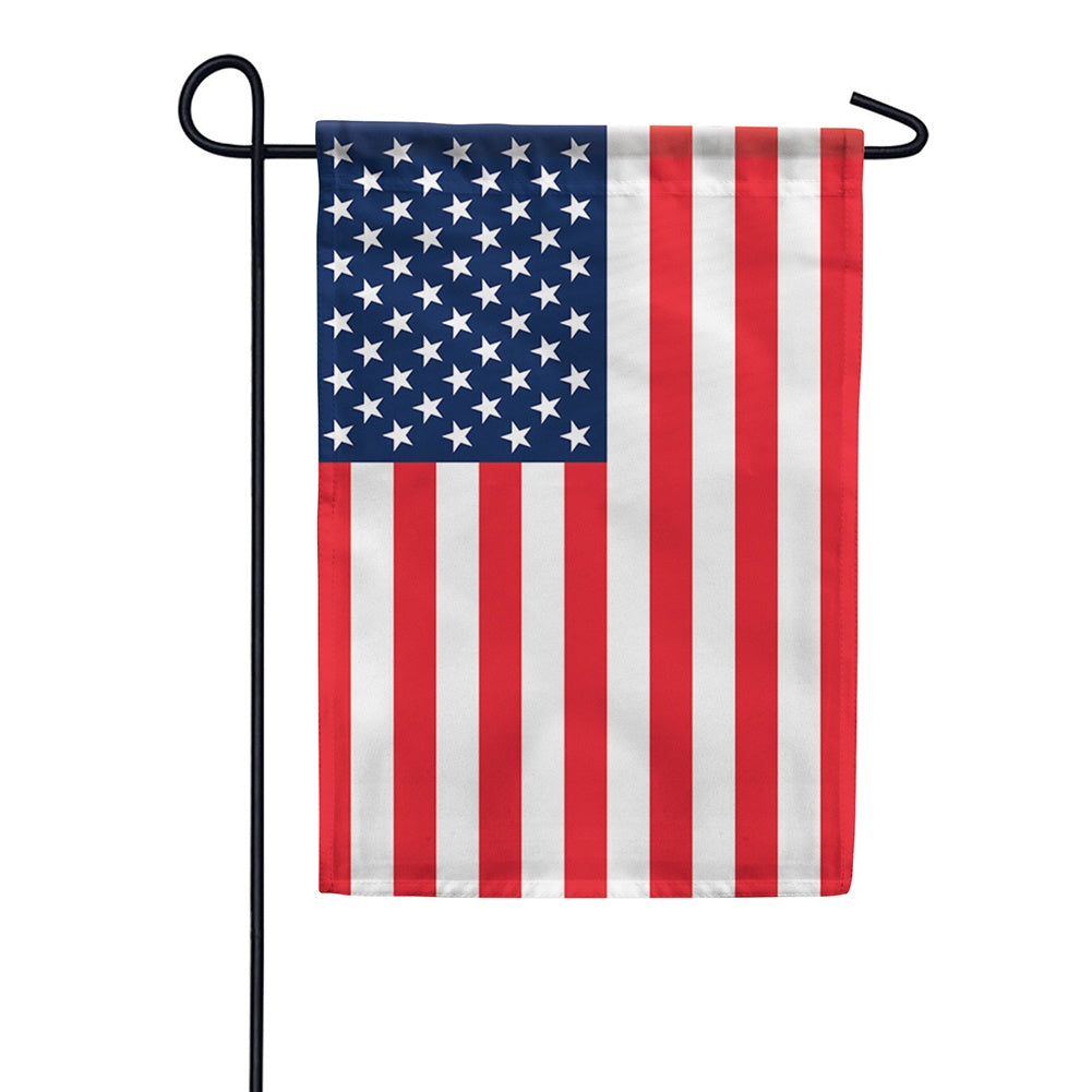 American Flag Double Sided Garden Flag
