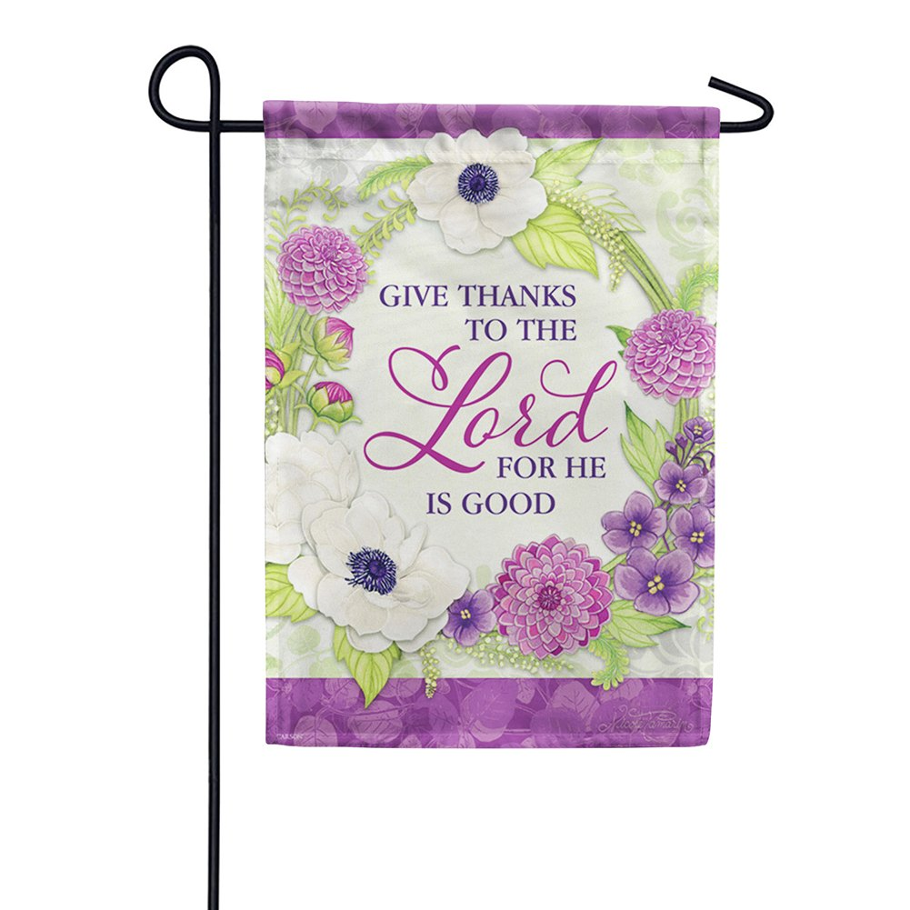 He Is Good Dura Soft Double Sided Garden Flag