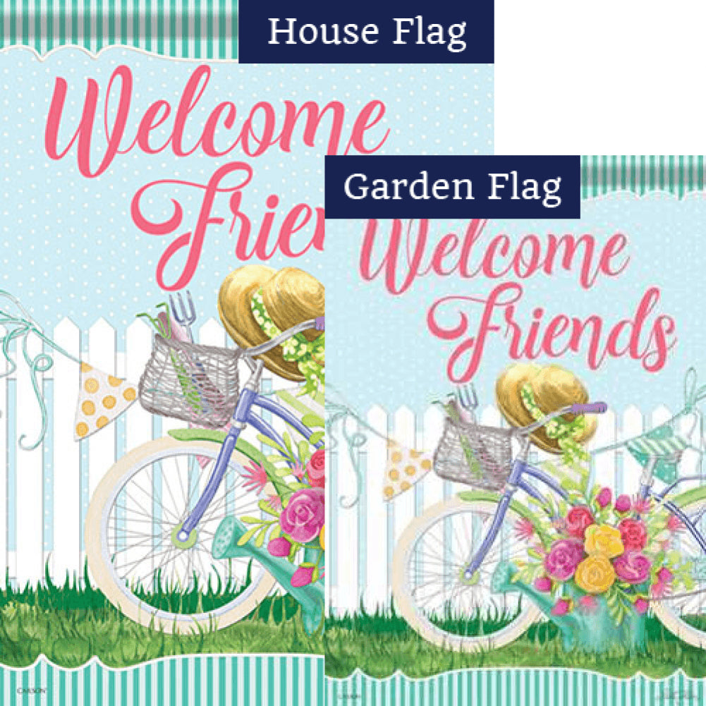 Spring Ride Double Sided Flags Set (2 Pieces)