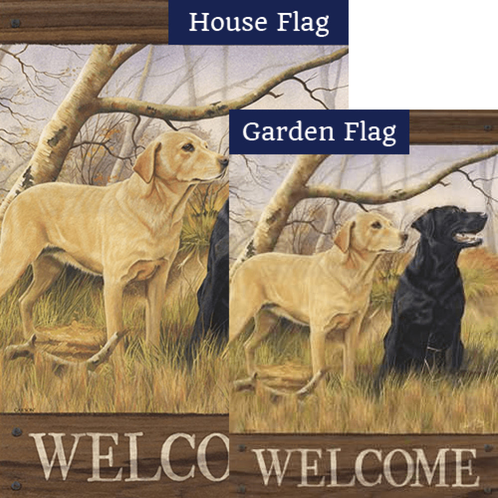 Sweet Labs Double Sided Flags Set (2 Pieces)