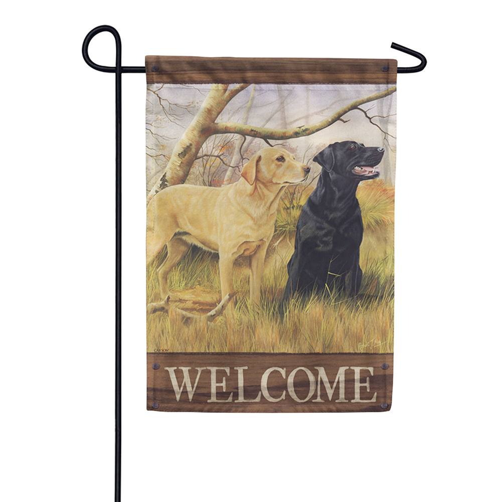 Sweet Labs Double Sided Garden Flag