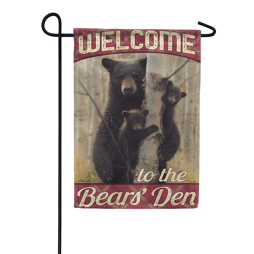 Mama Bear Double Sided Garden Flag