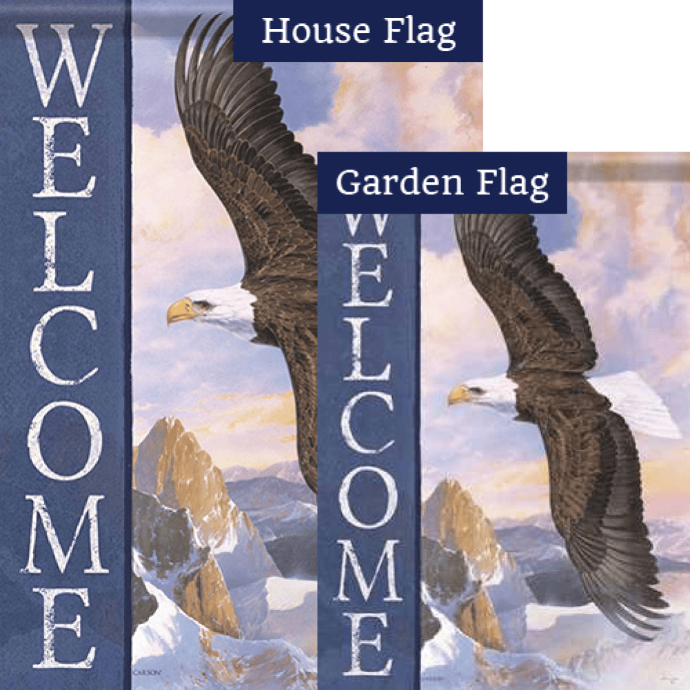 Majesty Double Sided Flags Set (2 Pieces)