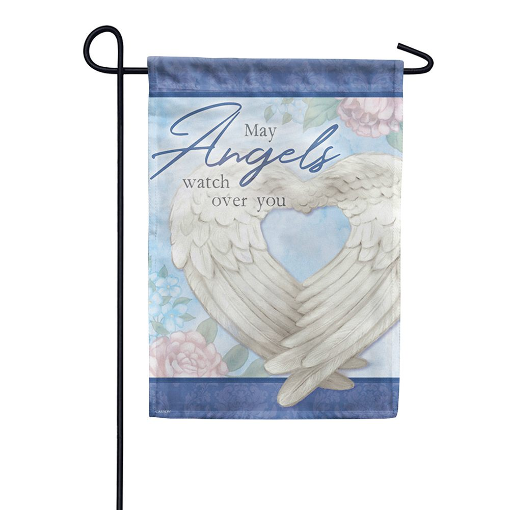 Wings Of An Angel Dura Soft Double Sided Garden Flag