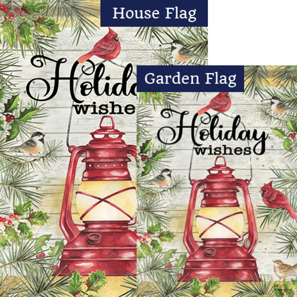 Songbird Lantern Flags Set (2 Pieces)