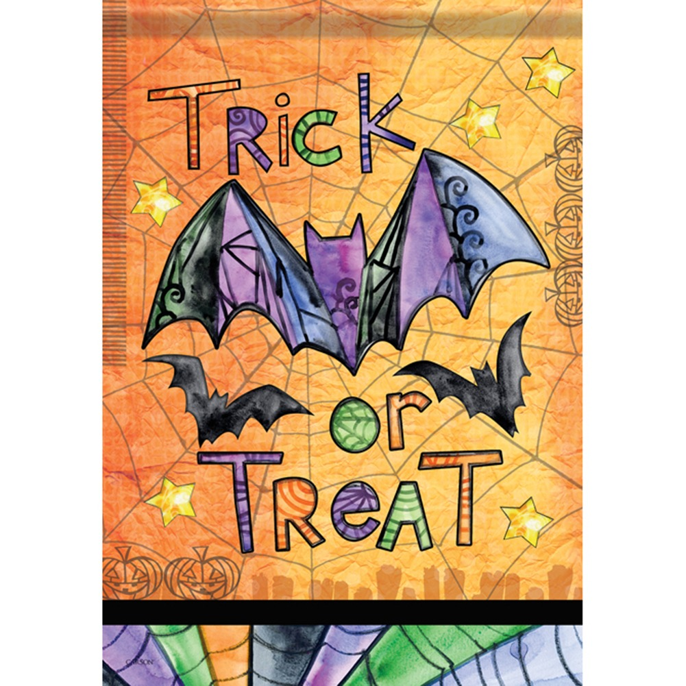 Tricks Or Treats Garden Flag