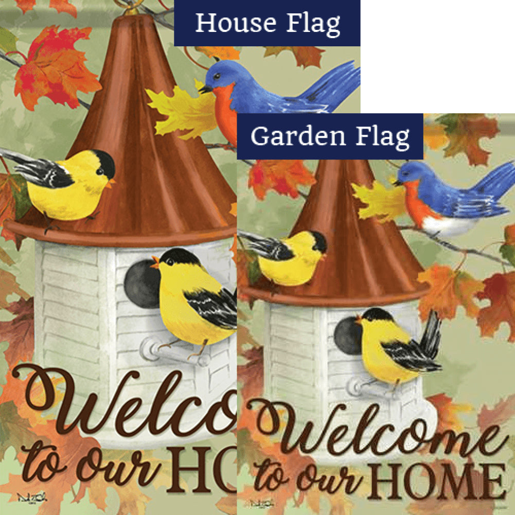 Songbird Meeting Flags Set (2 Pieces)