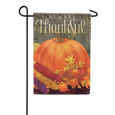 Always Thankful Garden Flag