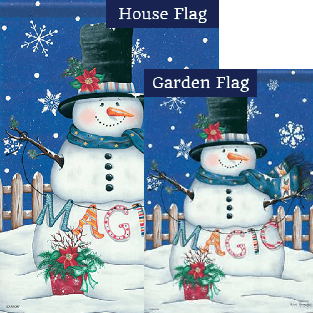Christmas Magic Flags Set (2 Pieces)