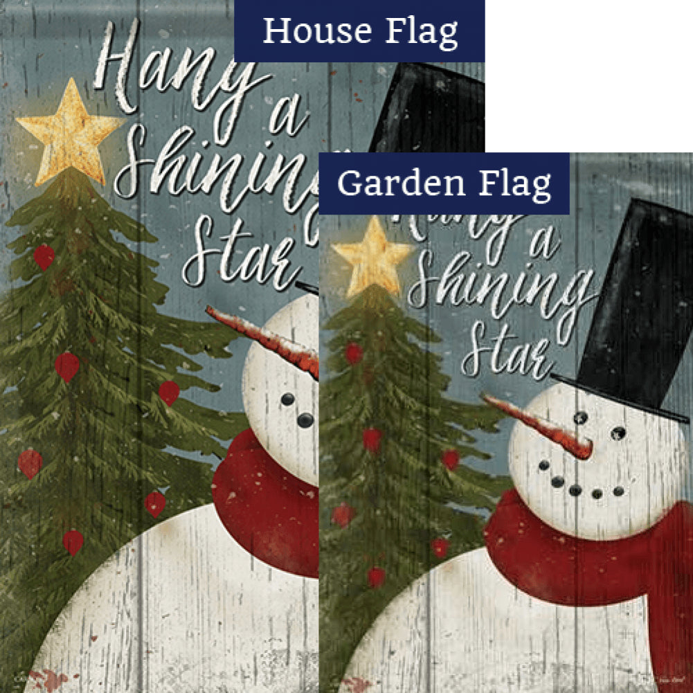 Hang A Shining Star Flags Set (2 Pieces)