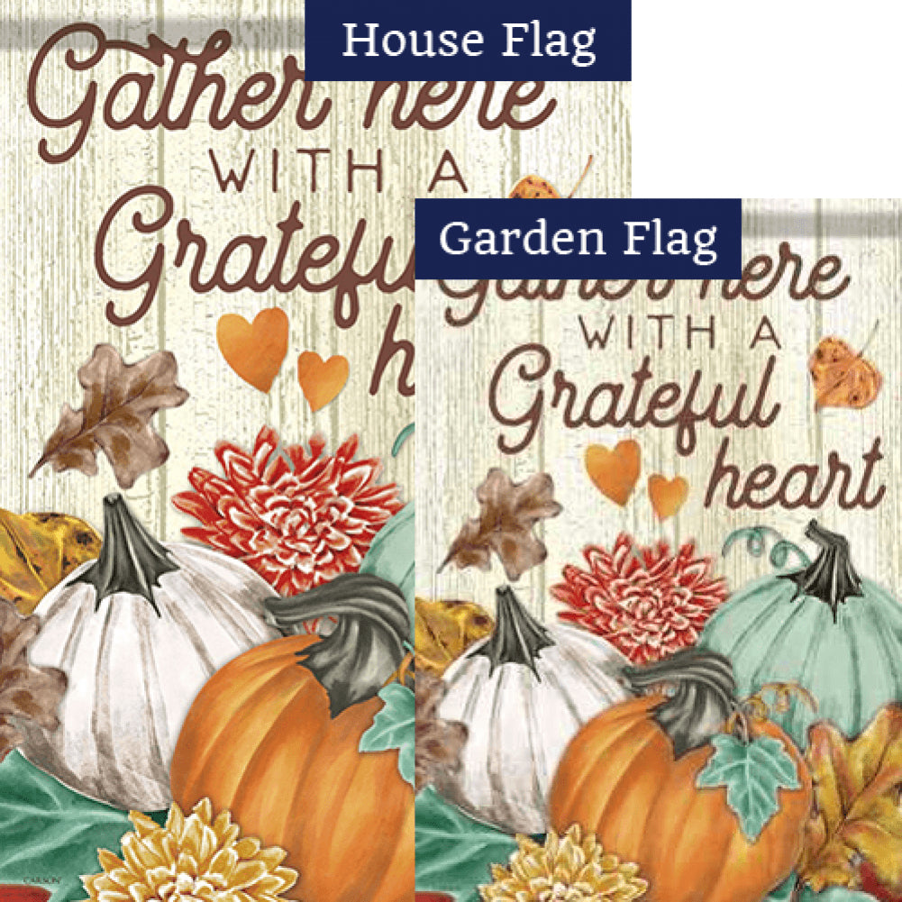 Autumn Trio Flags Set (2 Pieces)