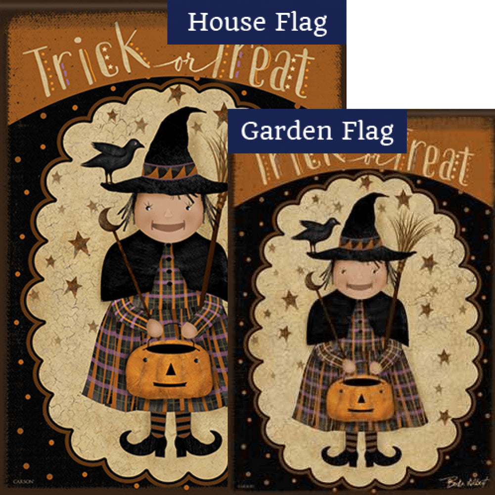 Primitive Witch Flags Set (2 Pieces)