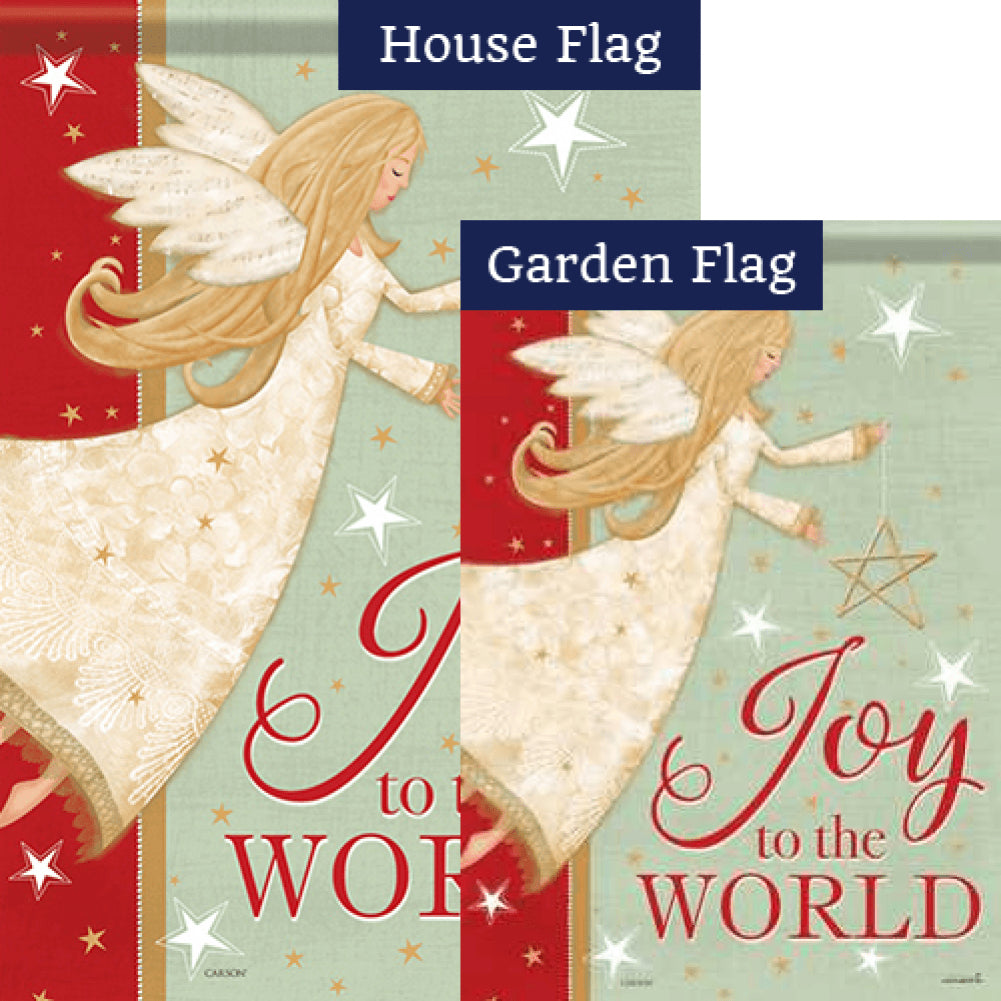 Angel Joy Glitter Trends Flags Set (2 Pieces)