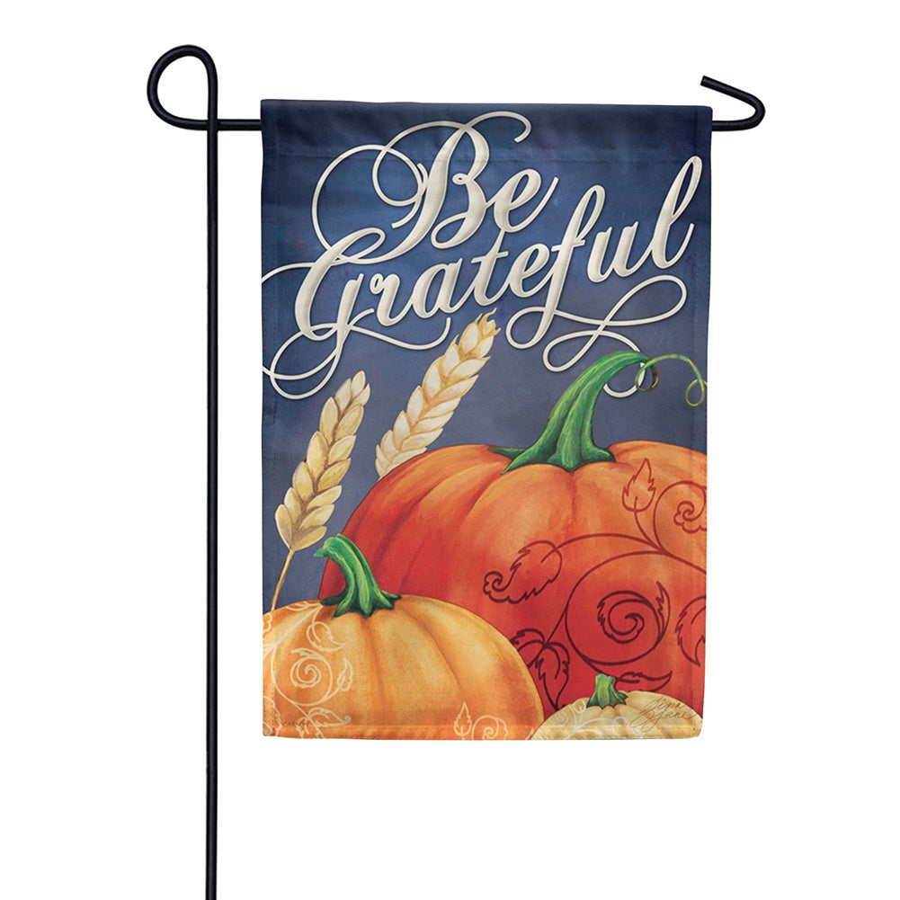 Grateful Fall Garden Flag
