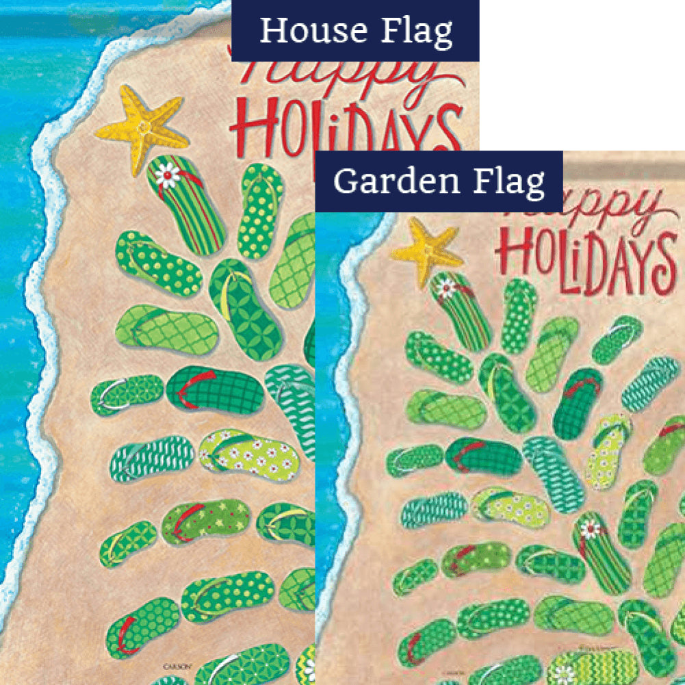 Flip Flop Tree Flags Set (2 Pieces)