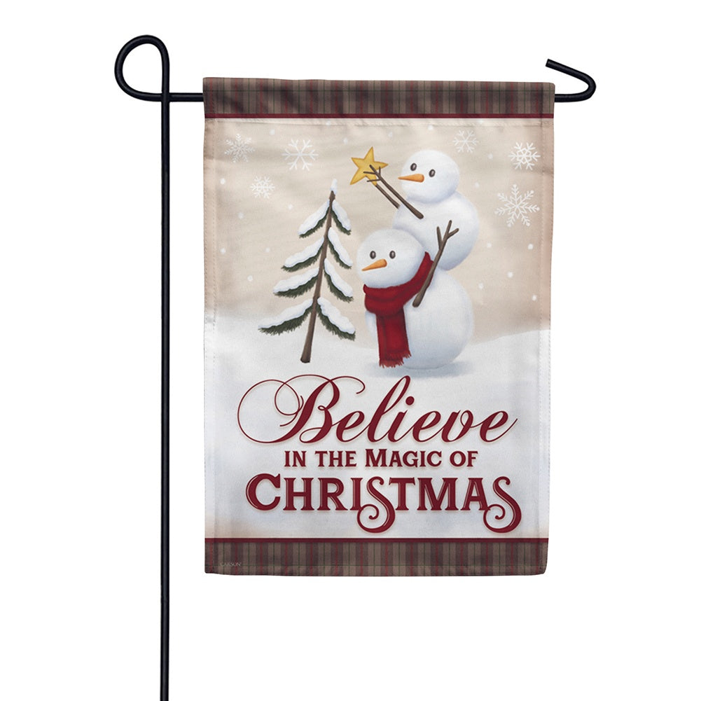 Believe In The Magic Double Sided Garden Flag