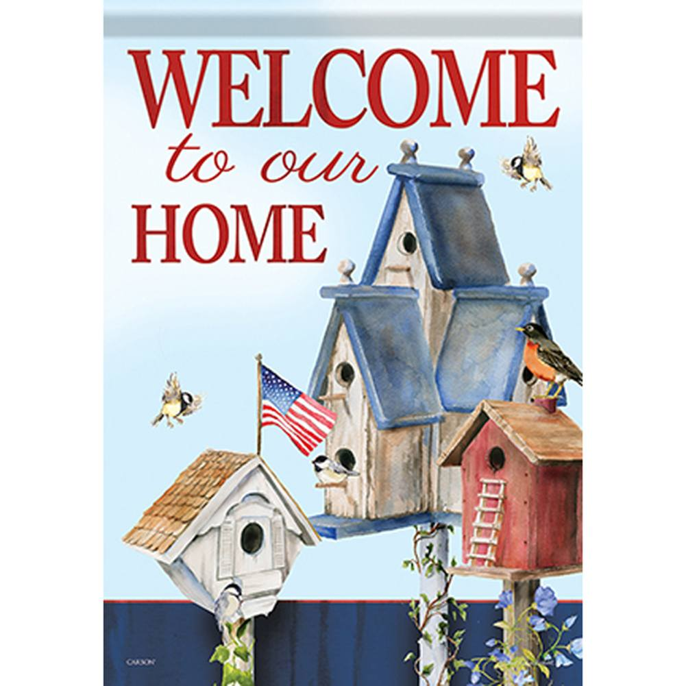 American Home Double Sided Garden Flag