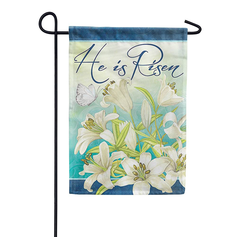 Blooming Lilies Double Sided Garden Flag